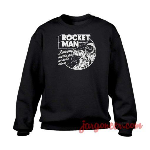 Rocket Man Crewneck Sweatshirt