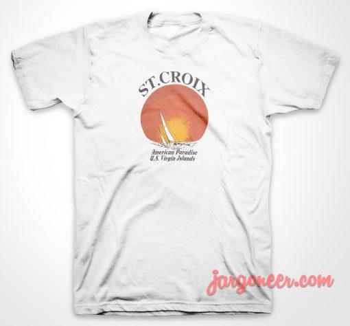 ST Croix American Paradise T Shirt