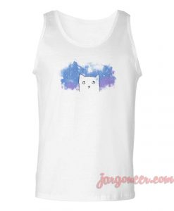 Space Cat Unisex Adult Tank Top