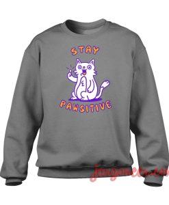 Stay Pawsitive Crewneck Sweatshirt