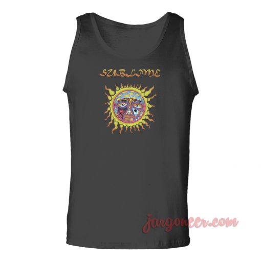 Sublime Sun Logo Unisex Adult Tank Top