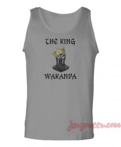 The King Of Wakanda Unisex Adult Tank Top