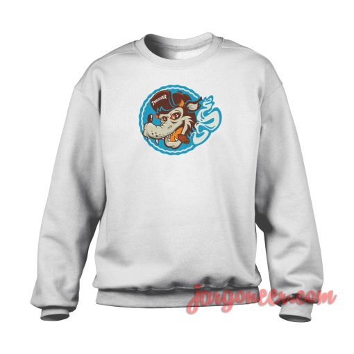 Thrasher Wolf Crewneck Sweatshirt