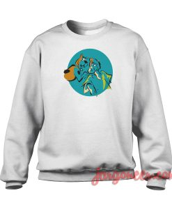 Vintage Shaggy And Scooby Crewneck Sweatshirt