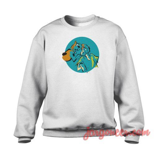 Vintage Shaggy And Scooby Crewneck Sweatshirt