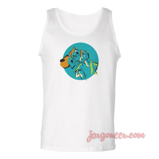 Vintage Shaggy And Scooby Unisex Adult Tank Top
