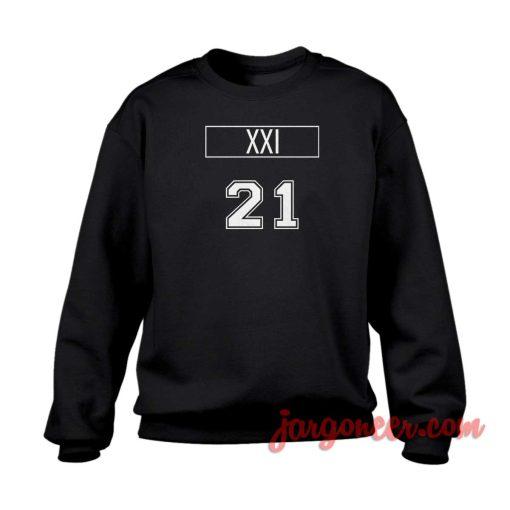 XXI 21 Crewneck Sweatshirt