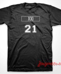 XXI 21 T-Shirt