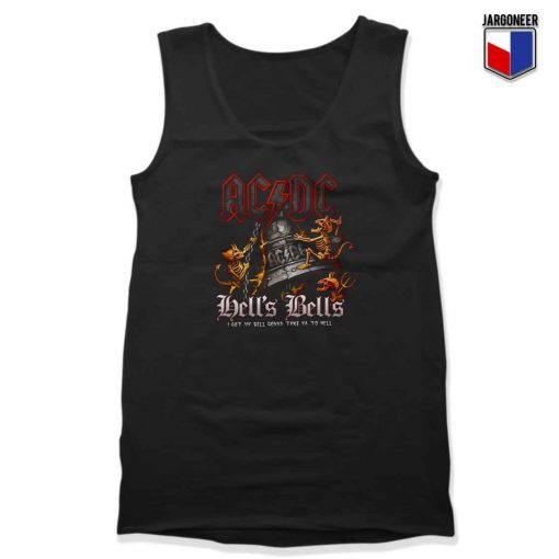 ACDC Hell's BellsUnisek Adult Tank Top Design
