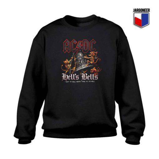 ACDC Hell's Bells Crewneck Sweatshirt