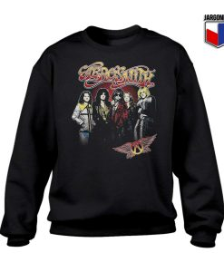 Aerosmith 1970 Crewneck Sweatshirt