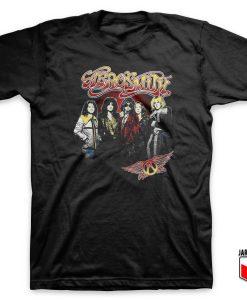 Aerosmith 1970 T Shirt Design