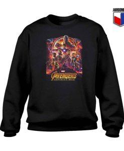 Avengers Infinity War Crewneck Sweatshirt