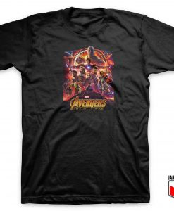 Cool Avengers Infinity War T Shirt Design