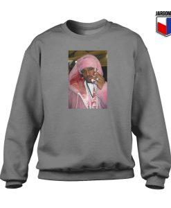 Camron Pink Phone Crewneck Sweatshirt
