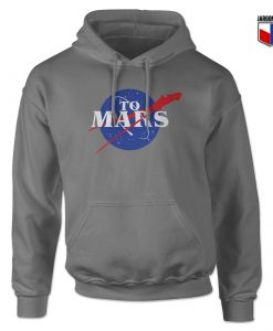 Cool Nasa To Mars Hoodie Design