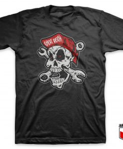 Cool Cheating Death Motorcycle T Shirt Design