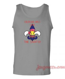 Colorado Girls Love Saints Unisex Adult Tank Top