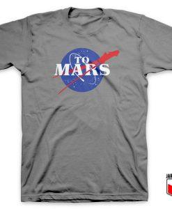 Cool NASA To Mars T Shirt Design 247x300 - Shop Unique Graphic Cool Shirt Designs