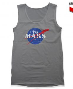 NASA To Mars Unisex Adult Tank Top Design