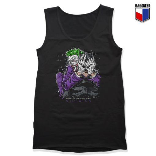 The Bat Joker Unisex Adult Tank Top Design