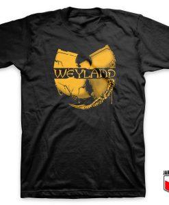 Cool Wu Tang Weyland Parody T Shirt Design