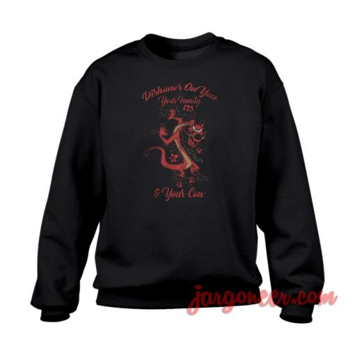 Dishonor On You Crewneck Sweatshirt