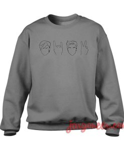 Dolan Twin Drawing Crewneck Sweatshirt