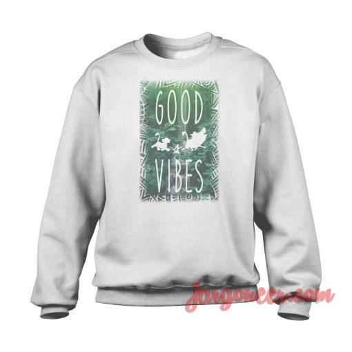 Good Vibes Hakuna Matata Crewneck Sweatshirt