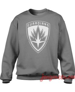 Guardians Of Galaxy Shield Crewneck Sweatshirt