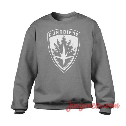 Guardians Of Galaxy Shield Crewneck Sweatshirt