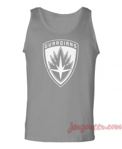 Guardians Of Galaxy Shield Unisex Adult Tank Top