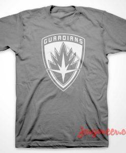 Guardians Of Galaxy Shield T-Shirt