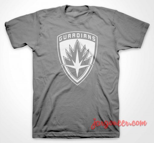Guardians Of Galaxy Shield T Shirt