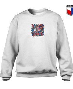 Huf Floral Crewneck Sweatshirt