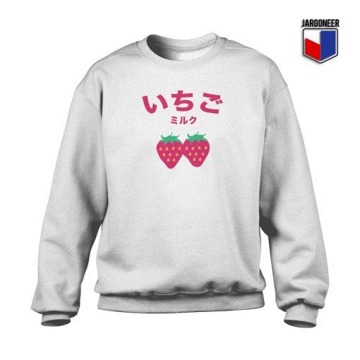 Ichigo Strawberry Milk Crewneck Sweatshirt