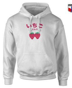 Ichigo Strawberry Milk Hoodie Design