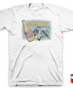 Cool Jamaica Dry Pale Ginger Ale T Shirt Design