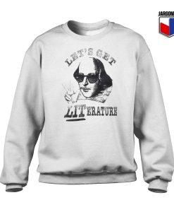 Let's Get Literatur Crewneck Sweatshirt
