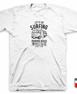 Lets Go Surfing Okinawa Beach 1 247x300 - Shop Unique Graphic Cool Shirt Designs