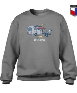 Life Is Good Crewneck Sweatshirt