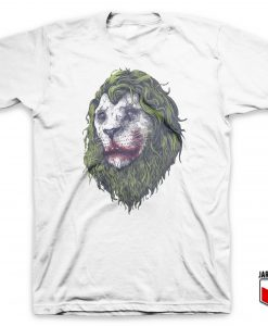 Cool Stoned Lion T Shirt Design