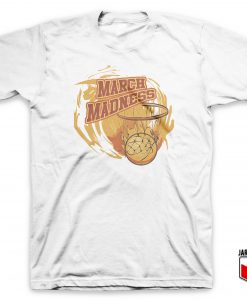 Cool March Madness Basketball T Shirt Design