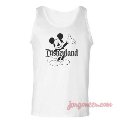 Mickey Disney Unisex Adult Tank Top
