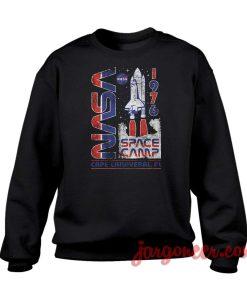Nasa Camp 1976 Crewneck Sweatshirt