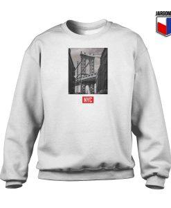 New York Bridge Crewneck Sweatshirt