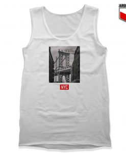 New York Bridge Unisex Adult Tank Top Design