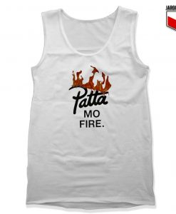 Patta Mo Fire Unisex Adult Tank Top Design