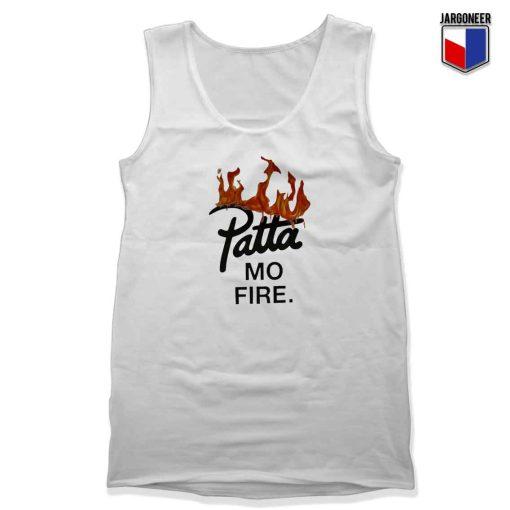 Patta Mo Fire Unisex Adult Tank Top Design