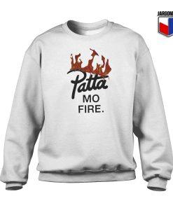 Patta Mo Fire Crewneck Sweatshirt